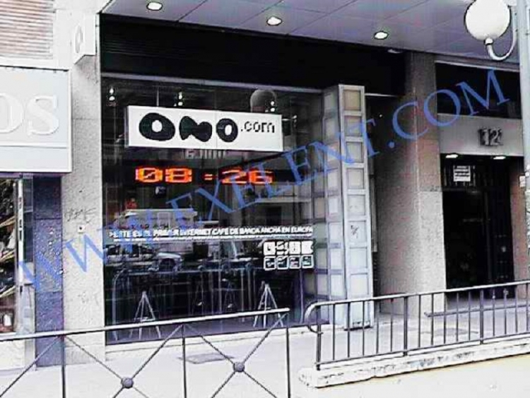 2004 Madrid, Local Comercial Fuencarral 121.
